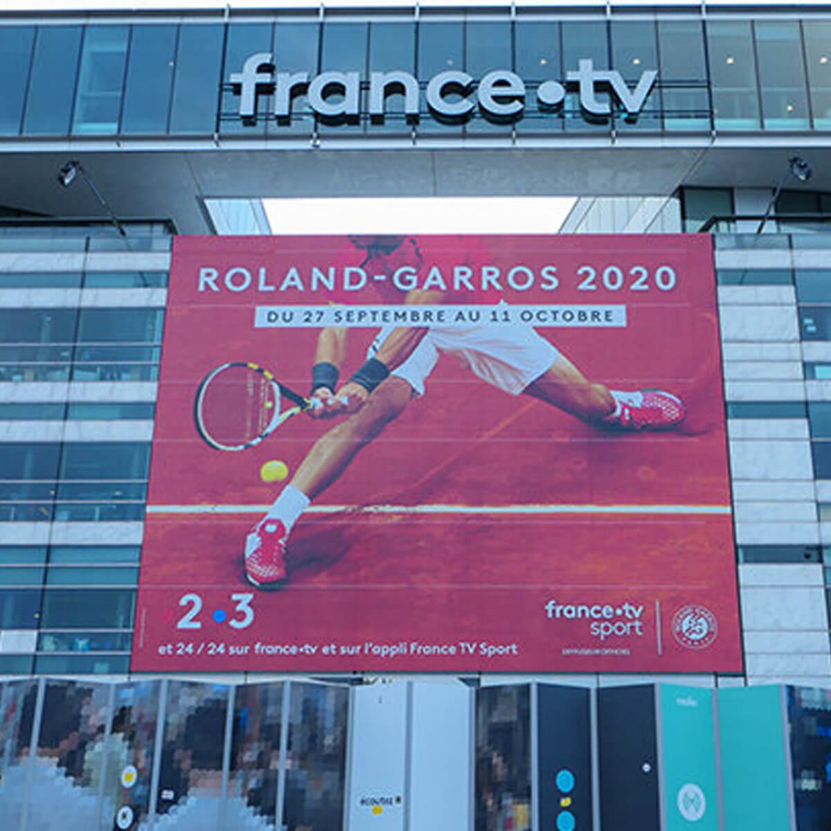Rolad Garros Tennis Poster